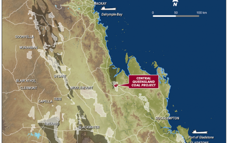 Central Queensland Coal Project - Location Plan